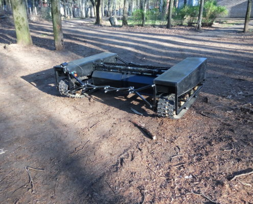 Terrazond GRT-22 with autonomous crawler - off road tests