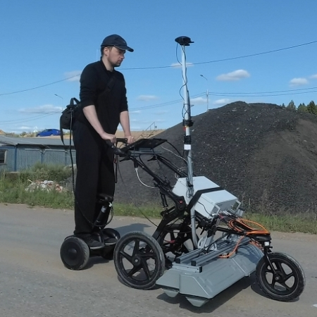 Roadscan with GRT-22 on seagway